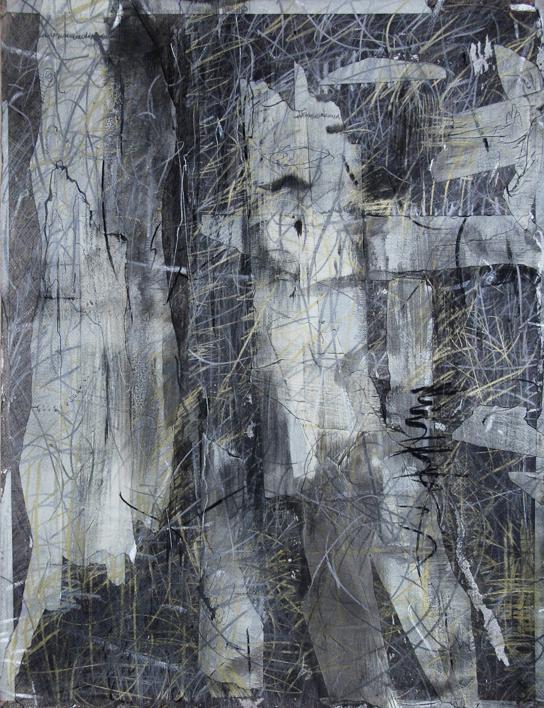 Nuestros tiempos II |Dibujo de Claudio Palazzo | Compra arte en Flecha.es