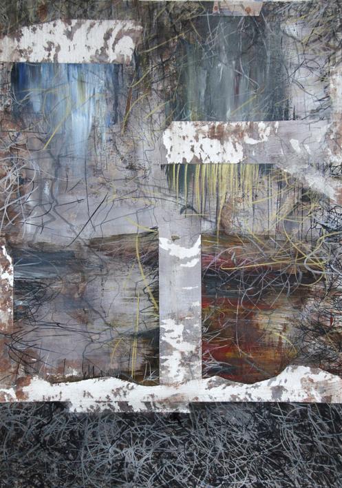 Our times V |Pintura de Claudio Palazzo | Compra arte en Flecha.es
