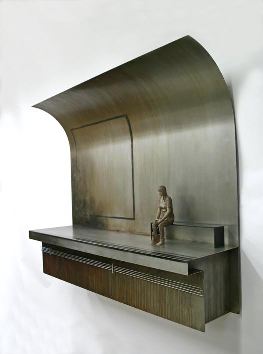 Llegará   Escultura de pared de Marta Sánchez Luengo   Compra arte en Flecha.es