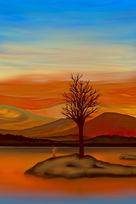When The Sun Goes Down |Digital de Helena Revuelta | Compra arte en Flecha.es