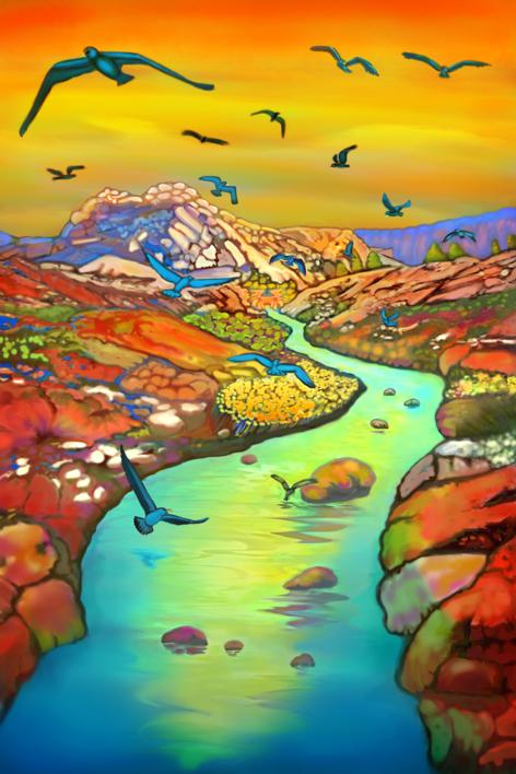 Beautiful Day |Digital de Helena Revuelta | Compra arte en Flecha.es