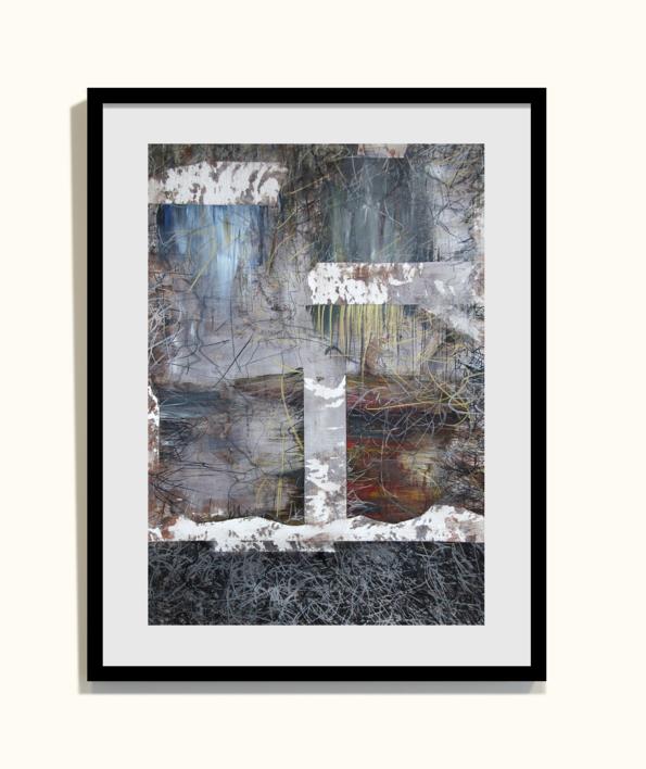 Our times V | Pintura de Claudio Palazzo | Compra arte en Flecha.es