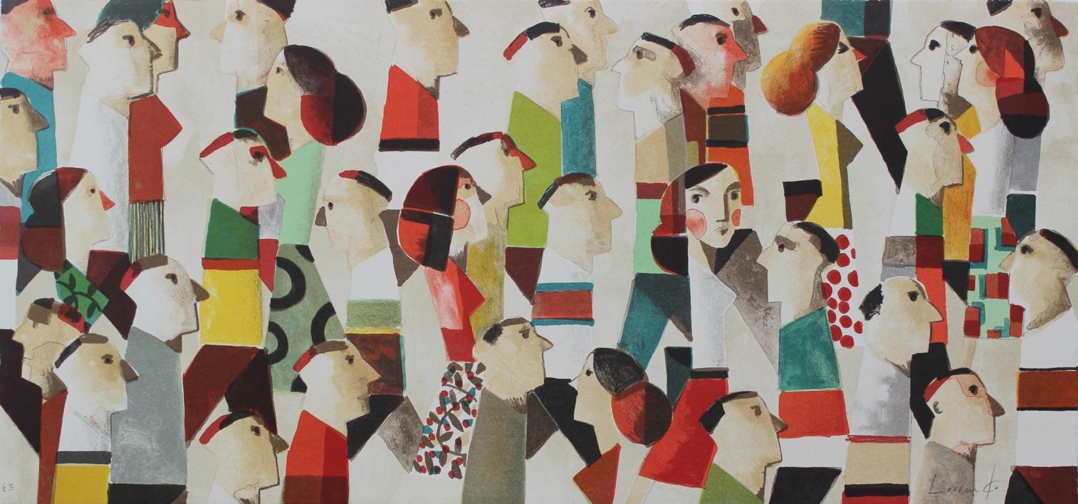VAMOS |Obra gráfica de Didier Lourenço | Compra arte en Flecha.es
