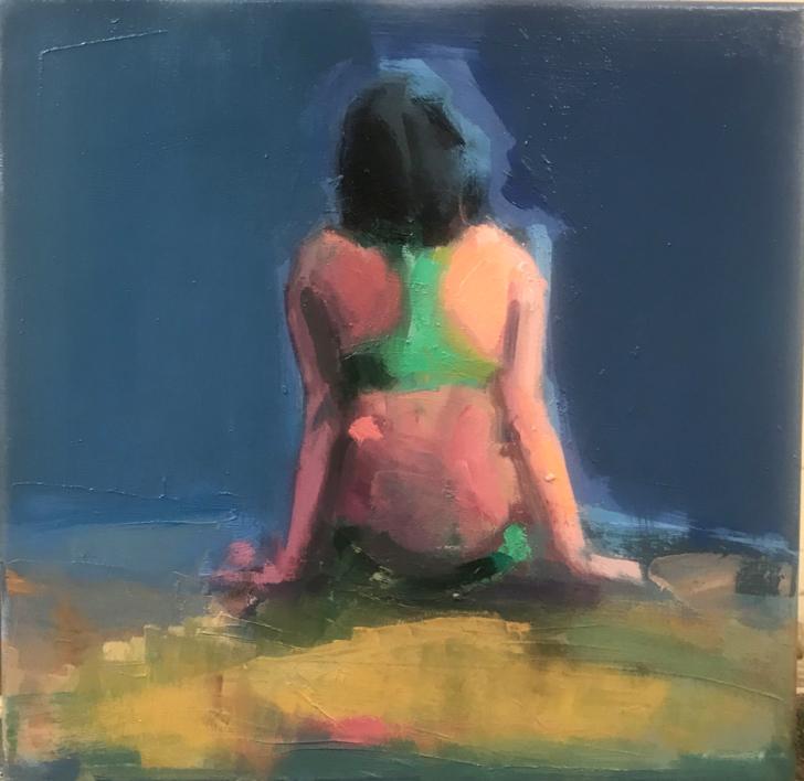 Comunicación no verbal |Pintura de Teresa Muñoz | Compra arte en Flecha.es