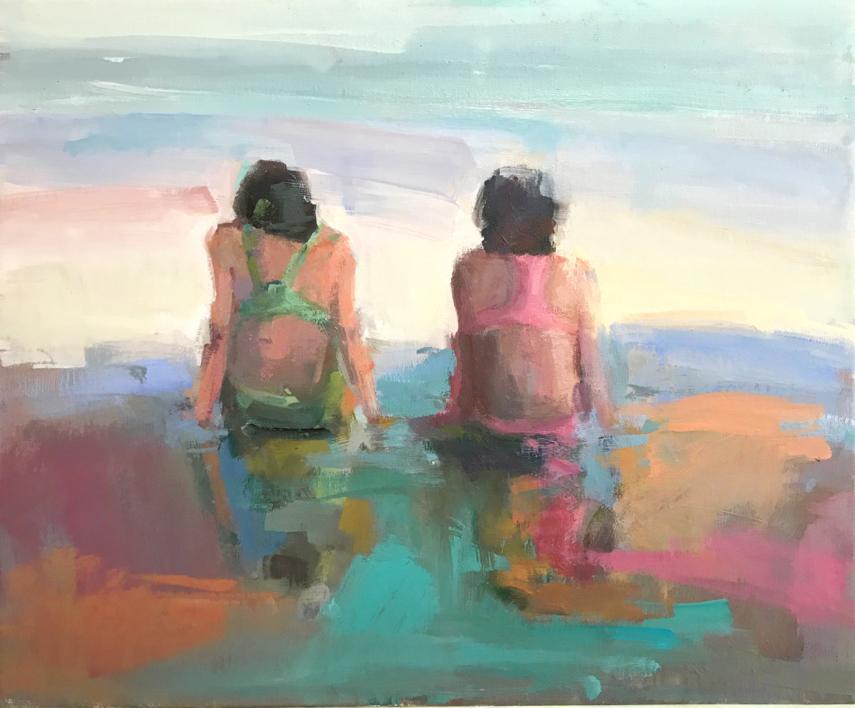 Comunicación no verbal  Pintura de Teresa Muñoz   Compra arte en Flecha.es