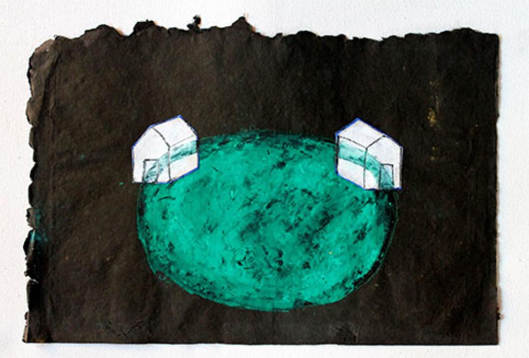 Lago |Pintura de Ana Pellón | Compra arte en Flecha.es