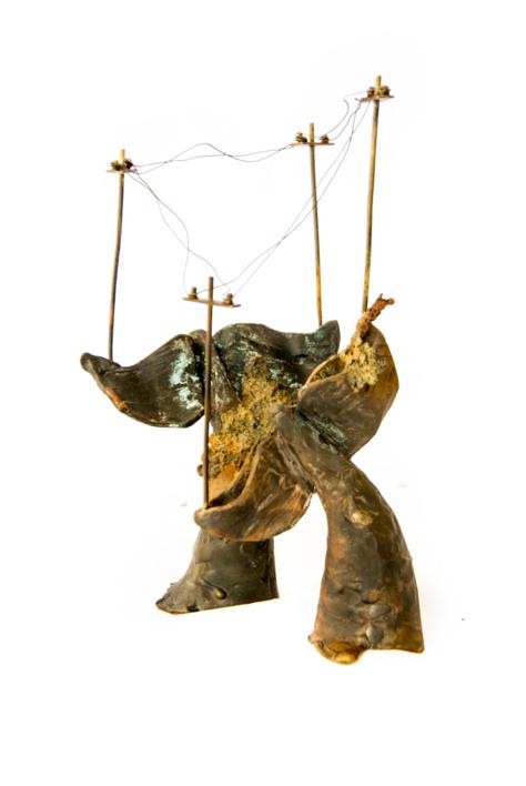 Ciudades inventadas nº8 |Escultura de Desire Tomás | Compra arte en Flecha.es