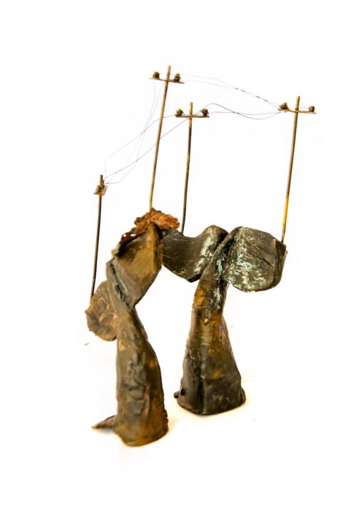 Ciudades inventadas nº8 | Escultura de Desire Tomás | Compra arte en Flecha.es