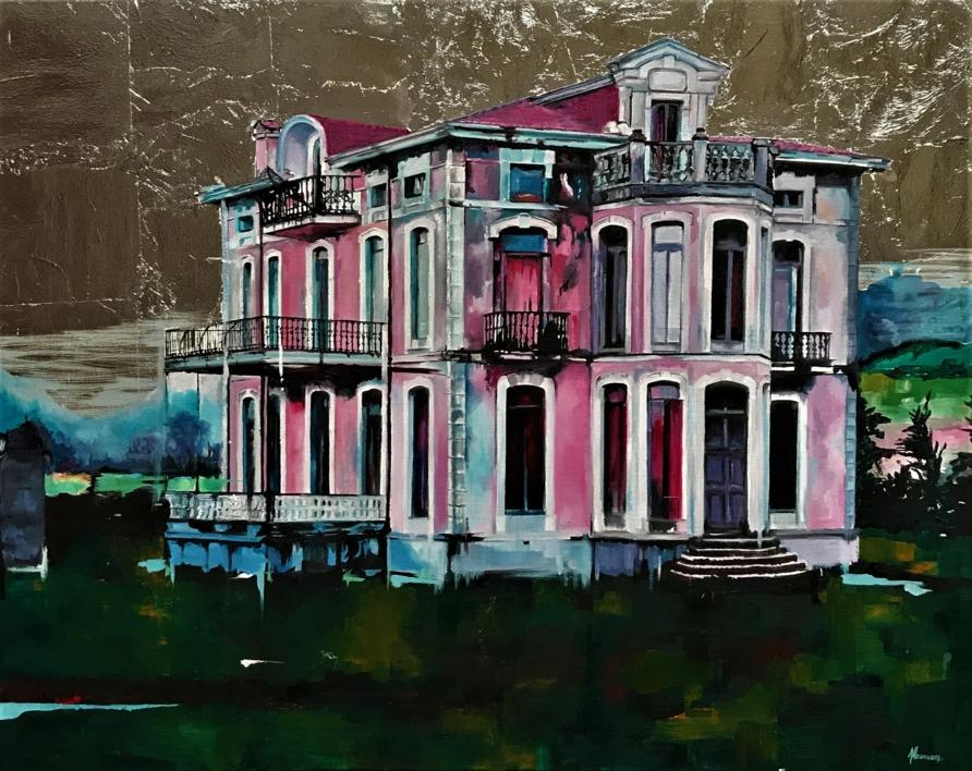 INDIANOS |Pintura de Marta Albarsanz | Compra arte en Flecha.es