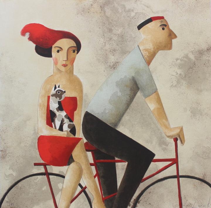 With You |Obra gráfica de Didier Lourenço | Compra arte en Flecha.es