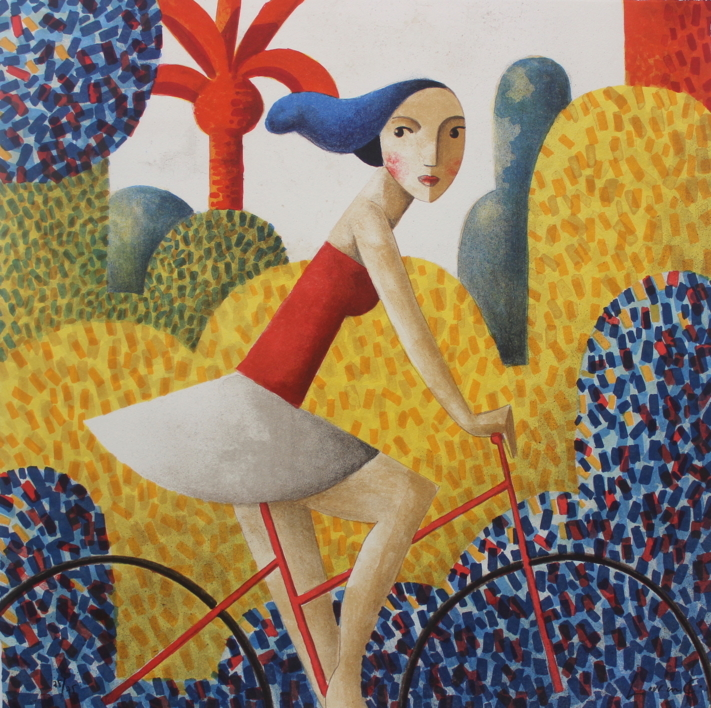Printemps |Obra gráfica de Didier Lourenço | Compra arte en Flecha.es
