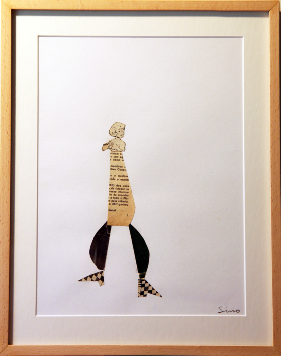 UPZI...  Collage de SINO   Compra arte en Flecha.es