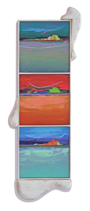 ISLAS 2 |Escultura de pared de Benito Salmerón | Compra arte en Flecha.es