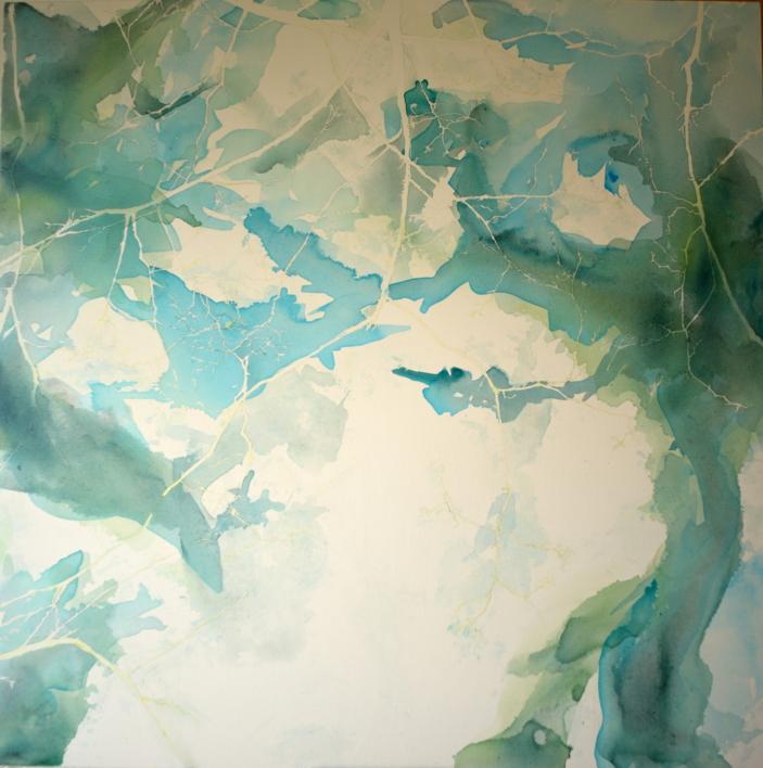 Glimmer of sun III |Pintura de JuanGuízar | Compra arte en Flecha.es