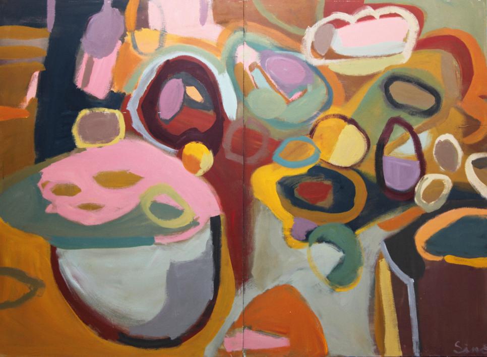 MERIENDA DE OTOÑO |Pintura de SINO | Compra arte en Flecha.es