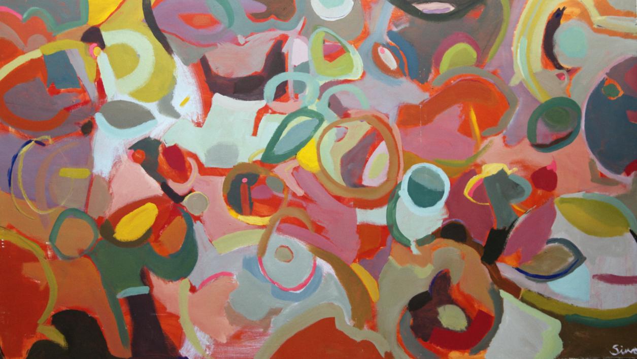 LOCA MERIENDA |Pintura de SINO | Compra arte en Flecha.es