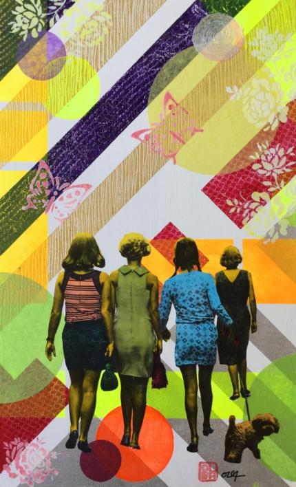 Andar |Collage de Olga Moreno Maza | Compra arte en Flecha.es