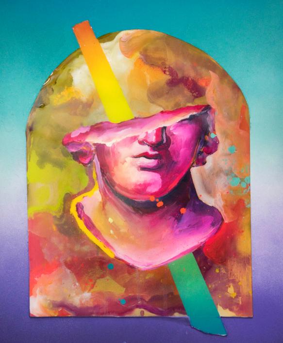 Santuario II |Pintura de Misterpiro | Compra arte en Flecha.es