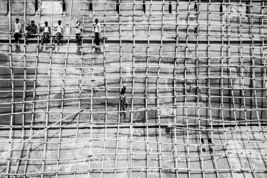 Red Fort |Fotografía de Javier Clemente | Compra arte en Flecha.es