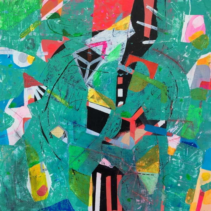 De entrañas nº 1 |Collage de Ángel Celada | Compra arte en Flecha.es