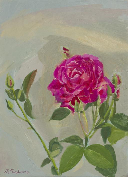 Rosas 5 |Pintura de Ignacio Mateos | Compra arte en Flecha.es