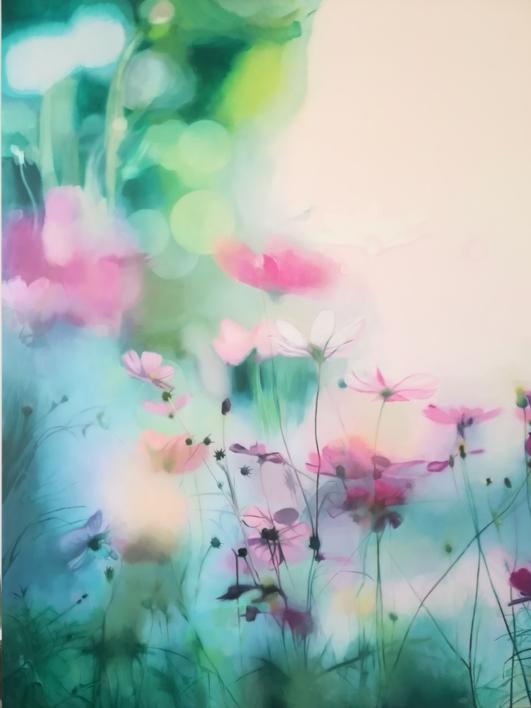 cosmos |Pintura de Imma Peña | Compra arte en Flecha.es