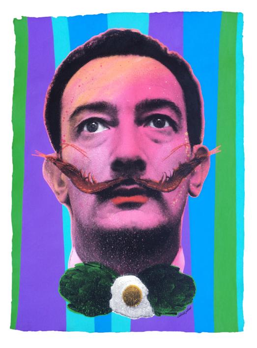 Dalí(Pink) |Pintura de Silvio Alino | Compra arte en Flecha.es
