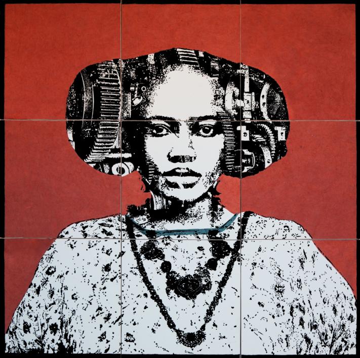 Construcción 2 |Collage de Alicia Calbet | Compra arte en Flecha.es