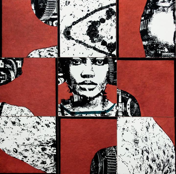 Construcción 2 | Collage de Alicia Calbet | Compra arte en Flecha.es