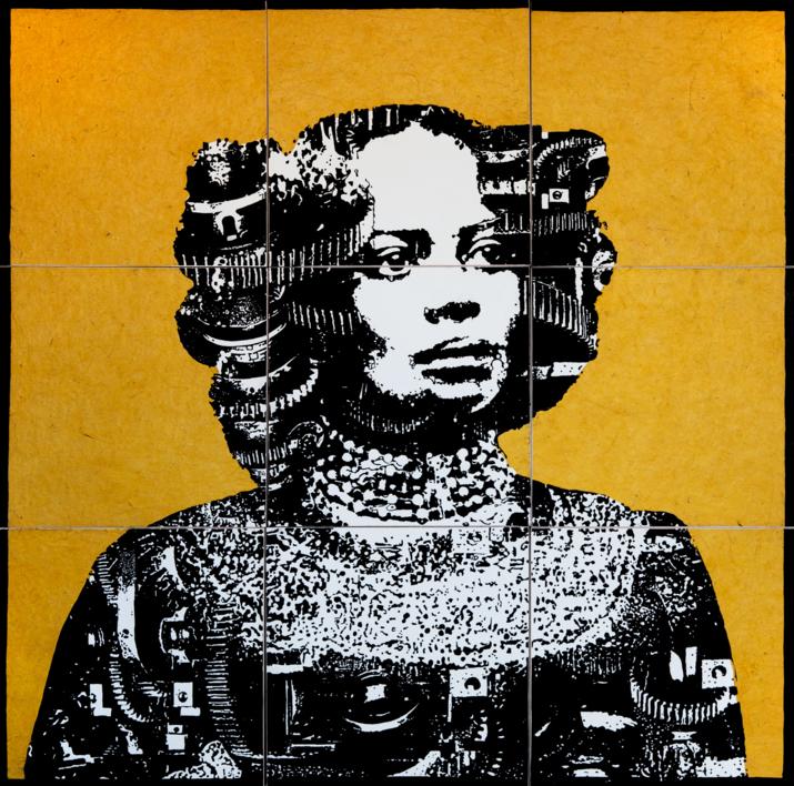 Construcción 3 |Collage de Alicia Calbet | Compra arte en Flecha.es