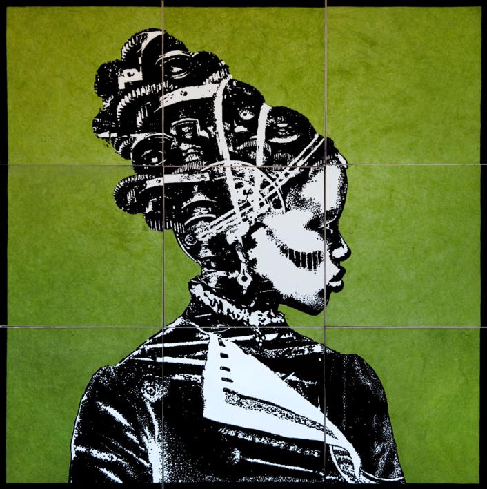 Construcción  4 |Collage de Alicia Calbet | Compra arte en Flecha.es