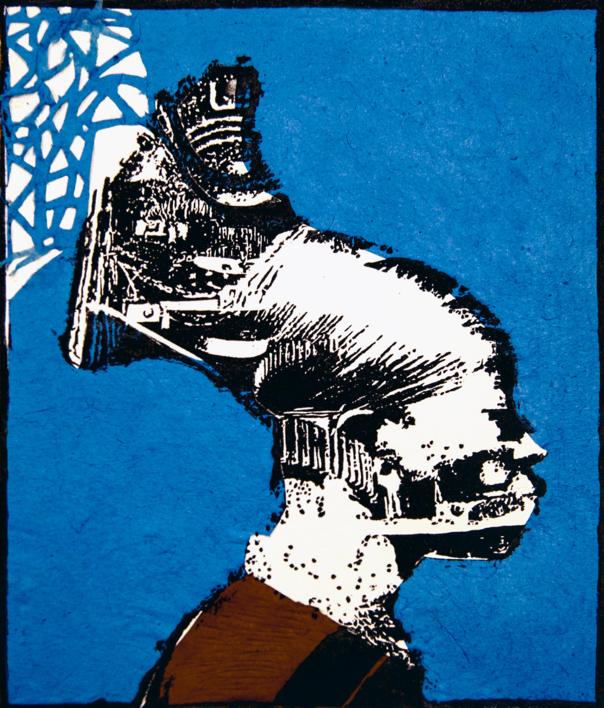 Tribu Mangbetu |Collage de Alicia Calbet | Compra arte en Flecha.es