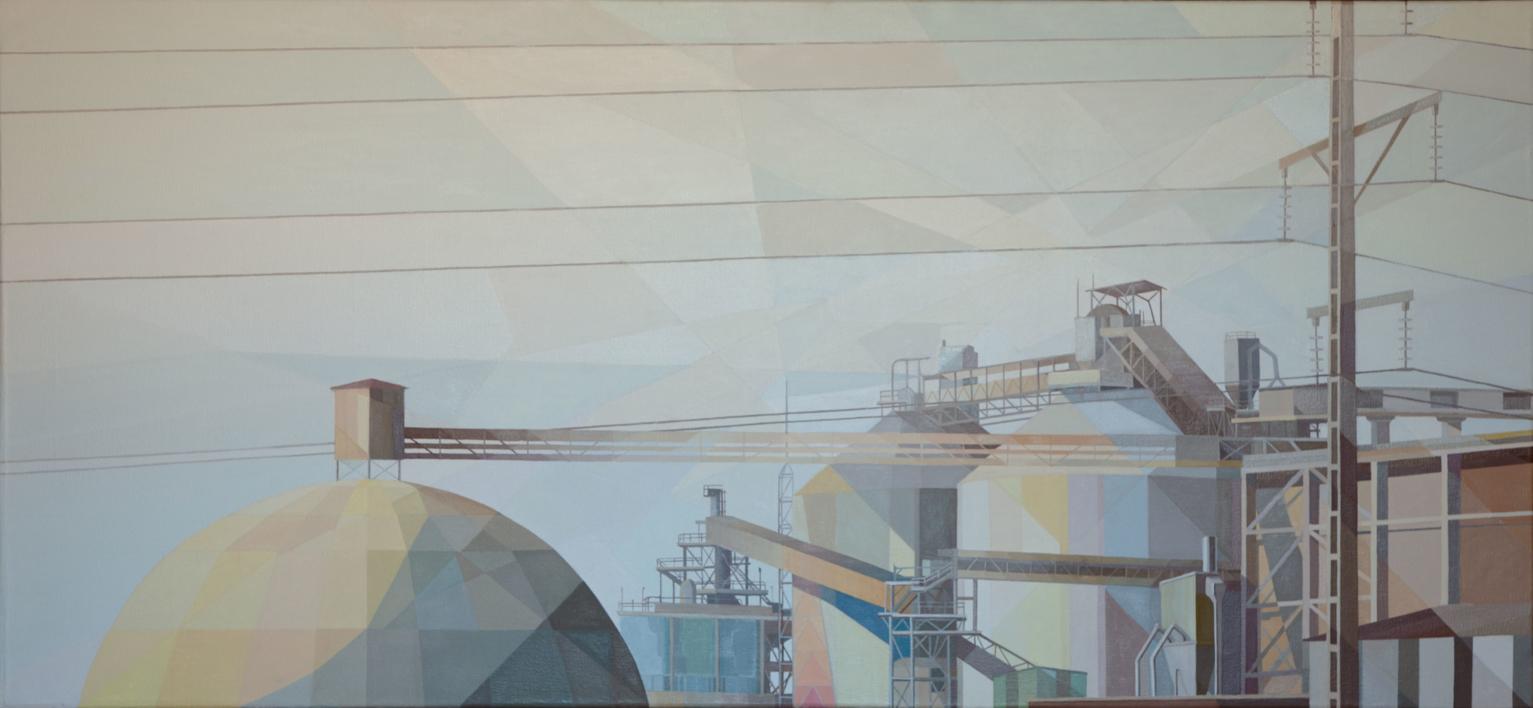 El Alto III  Pintura de Luis Monroy Esteban   Compra arte en Flecha.es