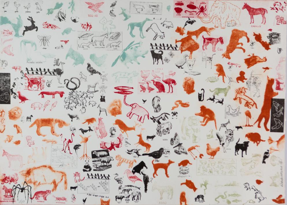 Animales  Obra gráfica de Ana Valenciano   Compra arte en Flecha.es