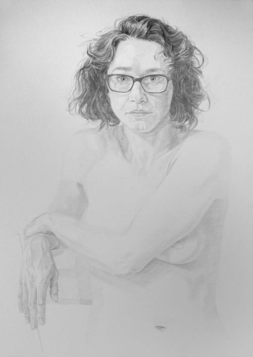 Karen II |Dibujo de Pablo Mercado | Compra arte en Flecha.es
