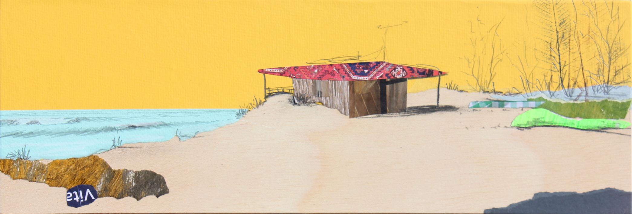 Costa de la luz |Collage de Eduardo Query | Compra arte en Flecha.es