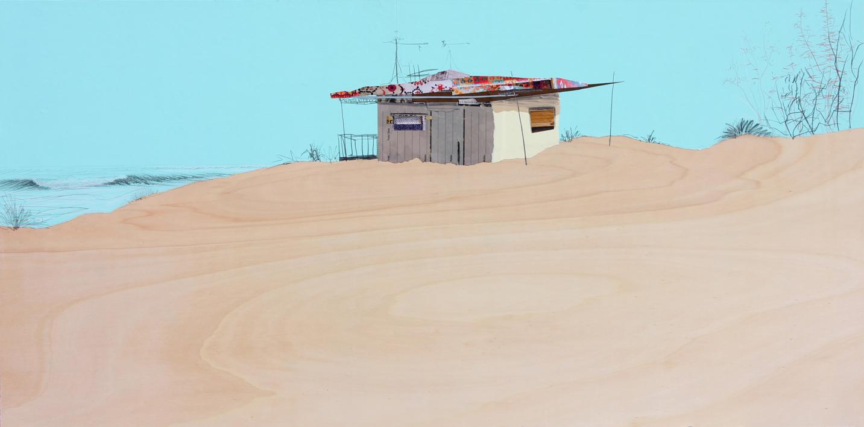 Verano sureño |Collage de Eduardo Query | Compra arte en Flecha.es
