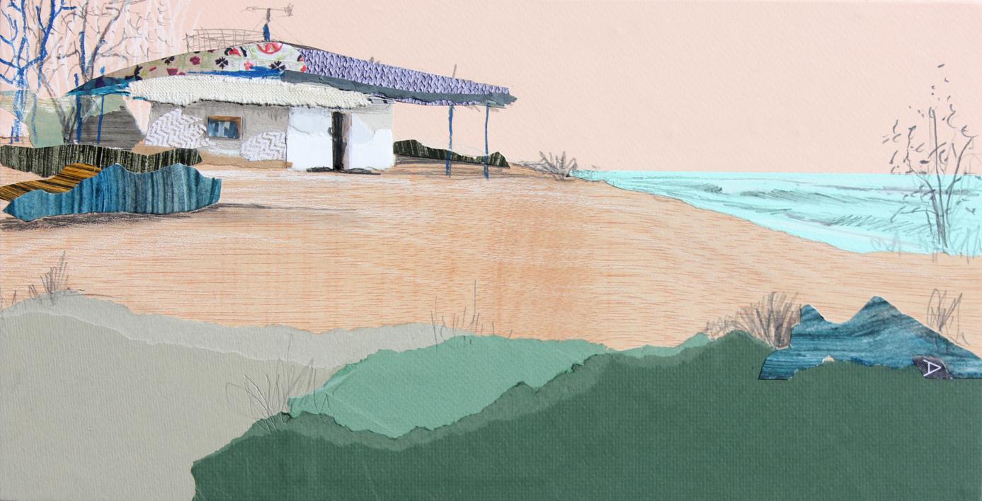 Primavera I |Collage de Eduardo Query | Compra arte en Flecha.es