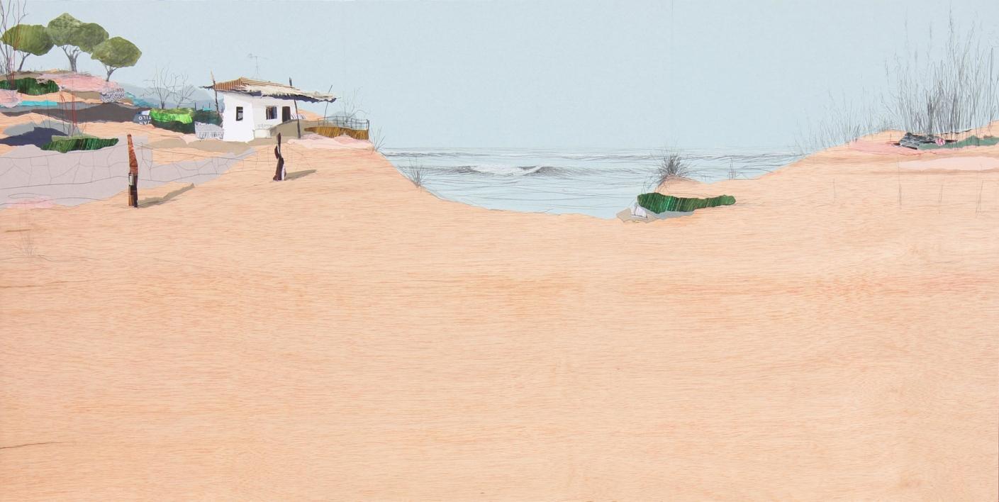 Sedentarios 151 |Collage de Eduardo Query | Compra arte en Flecha.es