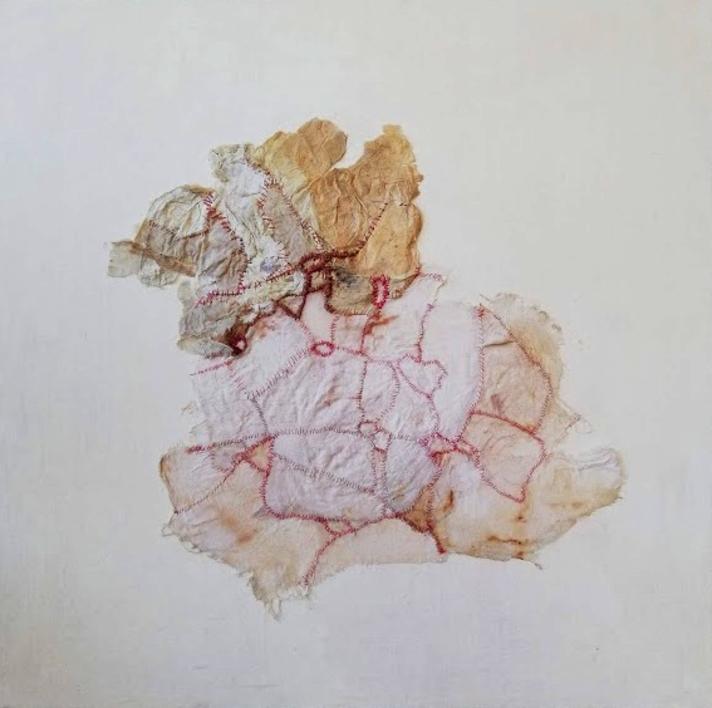 Stitching Up, Ironing Out, Flattening Down I |Collage de Barbara Long | Compra arte en Flecha.es