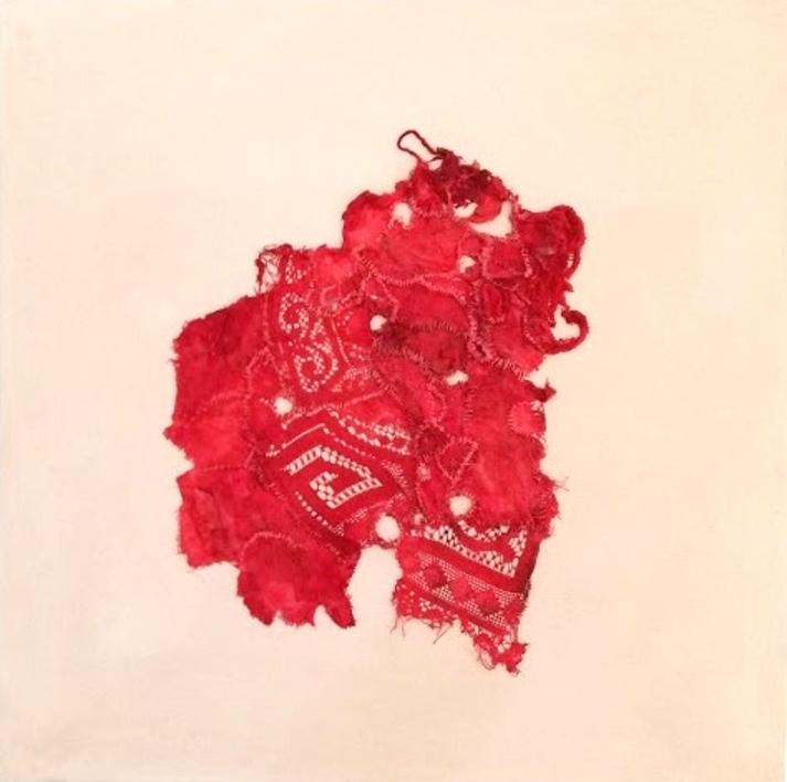 Stitching Up, Ironing Out, Flattening Down IV |Collage de Barbara Long | Compra arte en Flecha.es