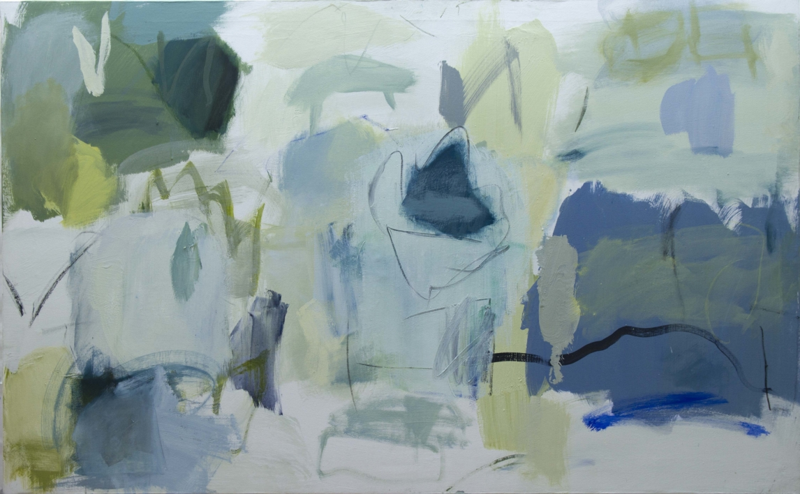 Que te quiero verde |Pintura de Eduardo Vega de Seoane | Compra arte en Flecha.es