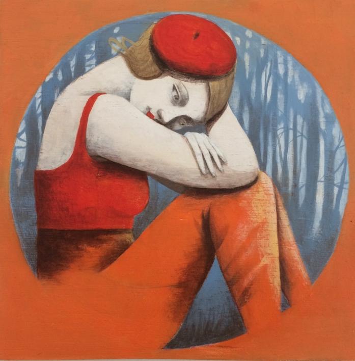 En el círculo |Pintura de Menchu Uroz | Compra arte en Flecha.es