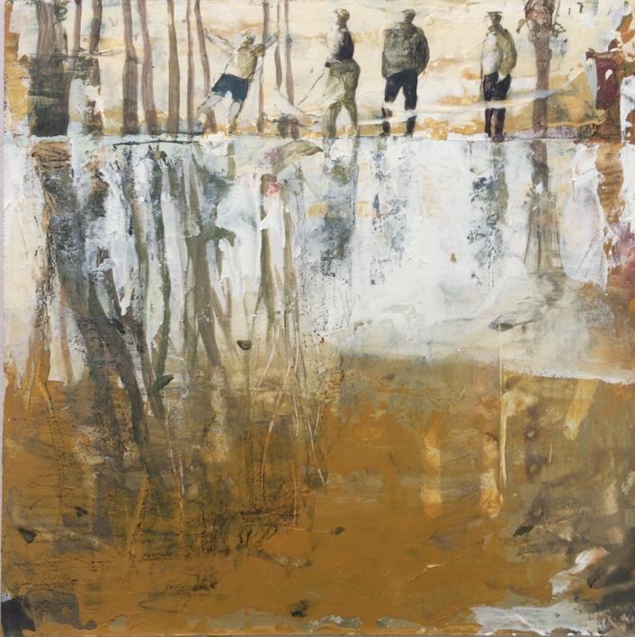 Reflejos |Pintura de Menchu Uroz | Compra arte en Flecha.es
