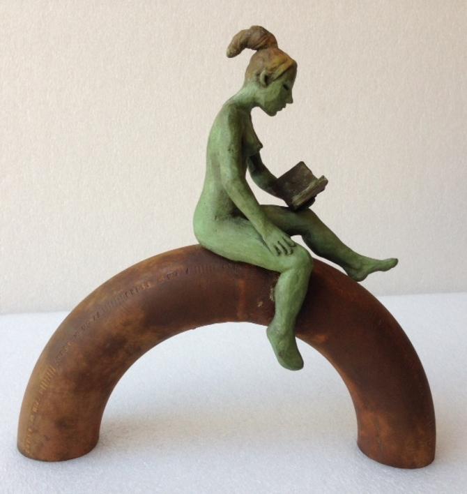Semicirculo |Escultura de Charlotte Adde | Compra arte en Flecha.es