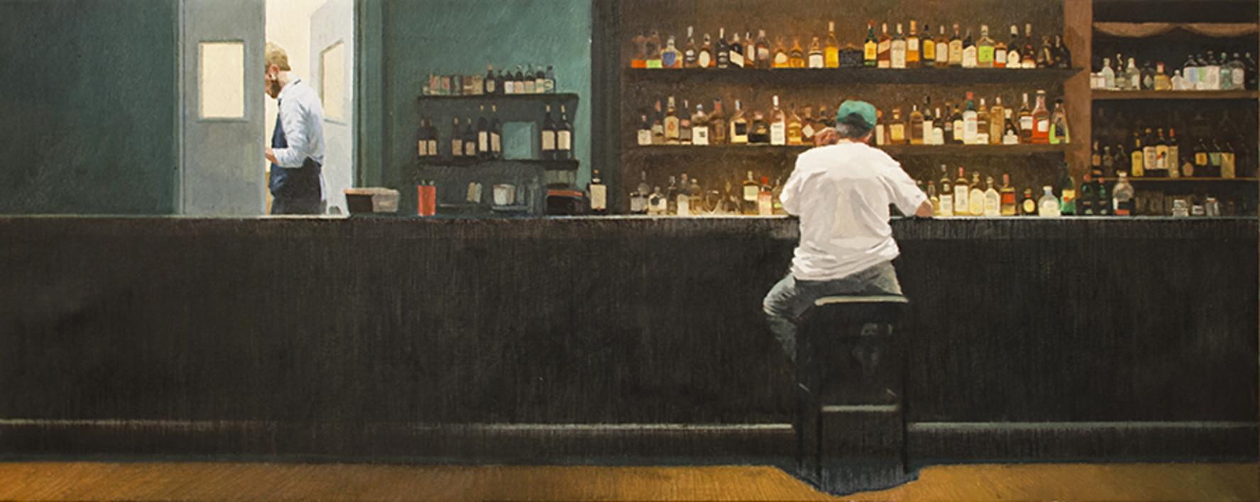 Noche en vela  Pintura de Orrite   Compra arte en Flecha.es
