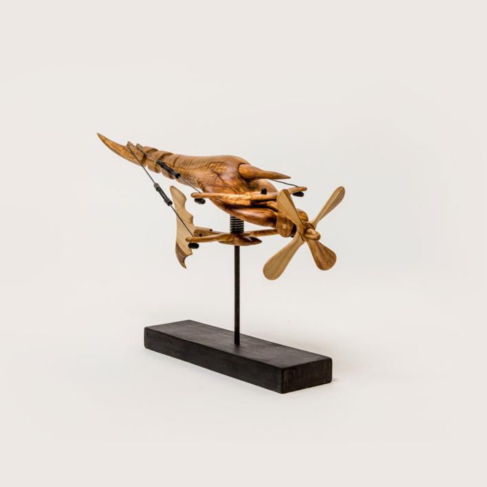 Díptero II |Escultura de Jose Juan Botella | Compra arte en Flecha.es