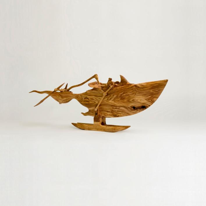 Tigre de mar |Escultura de Jose Juan Botella | Compra arte en Flecha.es