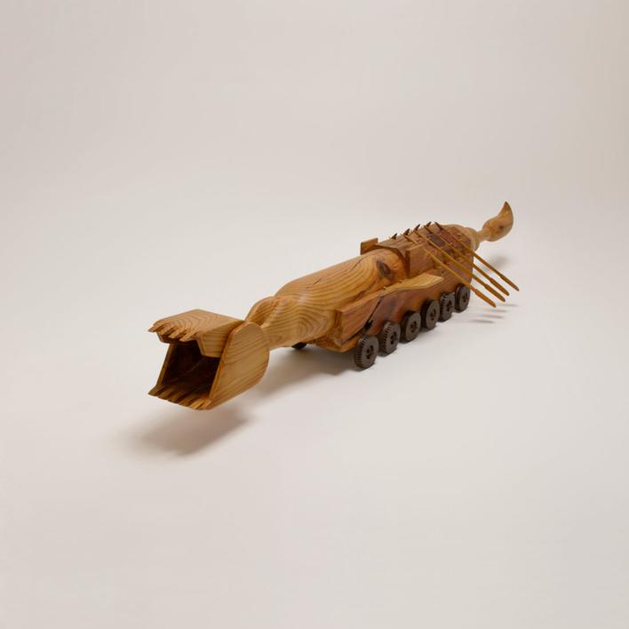 Capricornio doméstico |Escultura de Jose Juan Botella | Compra arte en Flecha.es
