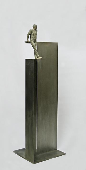 La cruz de tu moneda   Escultura de Marta Sánchez Luengo   Compra arte en Flecha.es